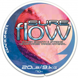 Gardner Návazcový vlasec Sure Flow Clear 70m/ 6,8kg (15lb)