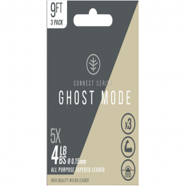 Wychwood Ujímaný návazec Ghost Mode Tapers 3X 9ft 6lb