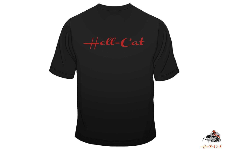 Tričko Hell-Cat Classic čierne vel.S