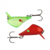 Savage Gear 4 Play Lip Scull Treble UV Red/Green 2ks