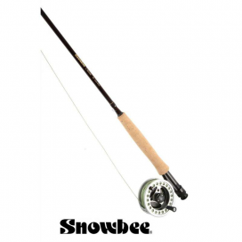 Rybářský prut Snowbee Classic Fly 9ft (2,7m) 5/6, 4-díl