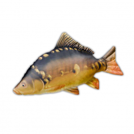 Gaby Polštář plyšová ryba Kapr gigant 84cm