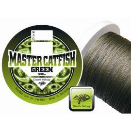 Giants Fishing Splétaná šňůra Master Catfish Green 0,60mm/ 1m