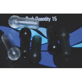 Osprey bižuterie - Chameleon protinárazový korálek hnědý 15ks