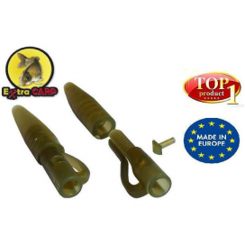 Extra Carp Lead clip with Tail Rubber - závěs+převlek