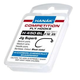 Muškařské háčky Hanák H 450 BL 25ks