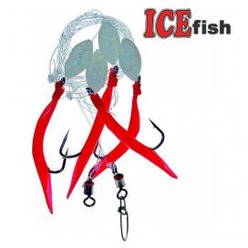 ICE fish Trubička A  návazec 5/0 160cm