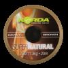 Korda návazcová šňůrka  Super Natural Gravel Brown 25lb