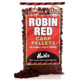 Dynamite Baits Pre-Drilled - Robin Red pelety 900g