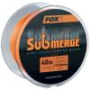 Fox Pletená Šňůra Sub Bright Orange Sink Braid 600m