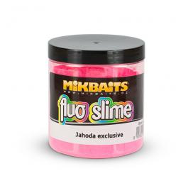 Mikbaits Fluo slime obalovací dip 100g - Jahoda exclusive