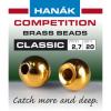 Hanák klasické mosazné hlavičky Zlaté 2mm