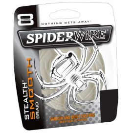 Spiderwire Splétaná šňůra Stealth Smooth 8 Translucent 1m