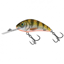 Salmo Wobler Rattlin Hornet Floating Yellow Holographic Perch