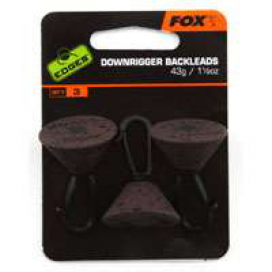 Fox Edges Downrigger Back Leads 21g zadní olovo 3ks