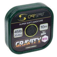 Carp Spirit Gravity SSL- Olověnka Super Supple Lead Core 10m 45lb Camo Green
