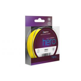 Fin Šňůra Hero 8 Fluo Yellow