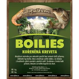 Boilies Rybina -  Kořeňená kreveta 5kg 20mm