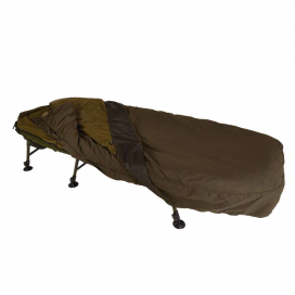 Solar Komplet - SP C-TECH Sleep System Wide (Lehátko SP Wide Bedchair +4-Season spací pytel + přehoz)