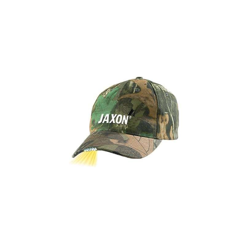 eac50a801 Jaxon Šiltovka Camouflage 5 LED - Rybárské potreby Rybina