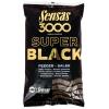 Sensas Krmení 3000 Dark Salty Feeder (feeder-černý-slaný) 1kg