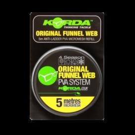 Korda PVA Funnel Web MICROMESH – 5m refill