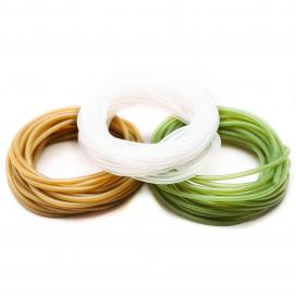 Taska součásti montáže - Silikonová hadička zelená 0,75mm x 3m