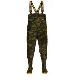Vass Prsačky brodící kalhoty Tex 785 Camo Chest Wader