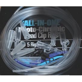 Osprey All in one - Komplet montáž Průběžná zátěž čirá 5ks