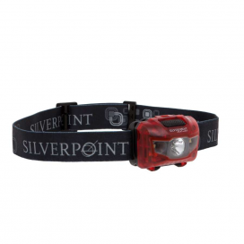 Silverpoint Outdoor Ltd Čelovka Hunter XL120 Red