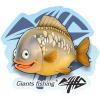 Giants Fishing Nálepka veľká - Kapor detský
