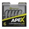 RidgeMonkey Háček Ape-X Continental 2XX Barbed 10ks