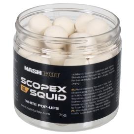Nash boilie Scopex Squid Airball Pop Ups white 12mm 75g
