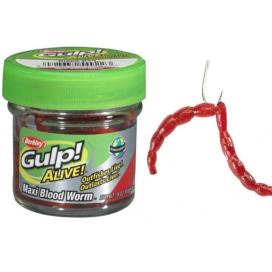 Berkley Gumová Nástraha Gulp Alive Bloodworms