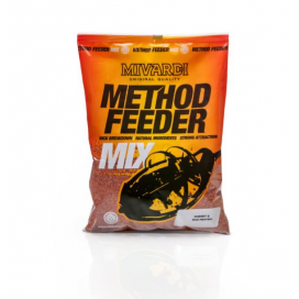 Mivardi Krmení Method Feeder Mix Black Halibut