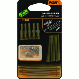 Fox EDGES ZIG LEAD CLIP KIT size 7