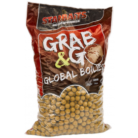 Starbaits Global boilies BANANA CREAM 20mm 10kg
