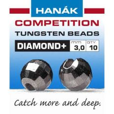 Hanák tungstenové hlavičky DIAMOND čierne niklové 20ks