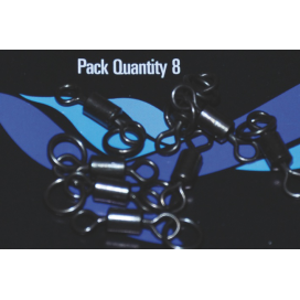 Osprey bižutéria - Tactical obratlík č.8 s veľkým očkom matný 8ks