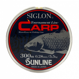 Vlasec SIGLON CARP 300m,0.285mm/6.2 kg-zelený