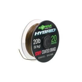 Korda Šňůra Hybrid Stiff  20lb 20m