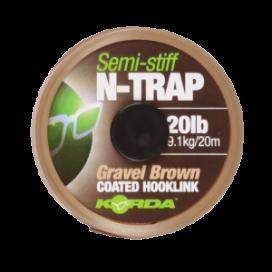 Korda návazcová šňůra N-TRAP Semi -Stiff