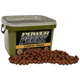 Starbaits Boilies Power Feedz Choco Tiger 14mm 1,8kg