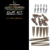Gardner Systémek Covert Clip Kit|C-Thru Green(Průhledná zelená)