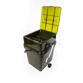 RidgeMonkey Drtička Advanced Boilie Crusher + 17 l Modular Bucket