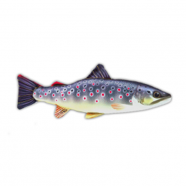 Gaby Polštář plyšová ryba pstruh obecný 36cm