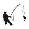 Samolepka Rybář 07
