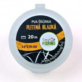 EasyFISHING šňůrky,pásky - PVA šňůrka silnější hladká 20m