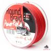 Hell-Cat Splétaná šňůra Round Braid Power Red 1000m