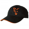 Fox kšiltovka Black & Orange Baseball Cap